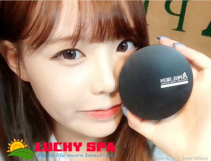 Phấn Nước April Skin Magic Snow Cushion SPF 50