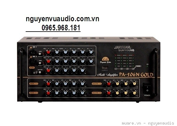 AMPLIFIER JARGUAR SUHYOUNG PA-506N GOLD giá sốc - 1